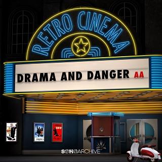 SOHOA 134 Retro Cinema - Drama And Danger