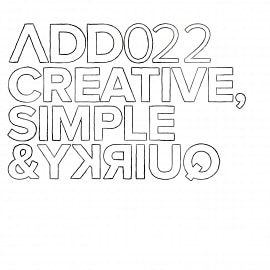 ADD022 - Creative Simple & Quirky