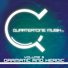 ST185 Quartertone Musik Vol. 9 - Dramatic And Heroic