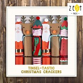 ZEST083 Tinsel-Tastic Christmas Crackers