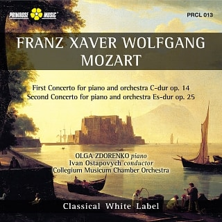 PRCL 013 First Concerto For Piano And Orchestra C-dur op.14 - Second Concerto For Piano And Orchestra Es-dur op.25